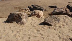 Zand en Rots Stock Fotografie