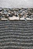 Zand en steen Stock Afbeeldingen