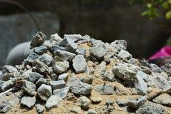 Zand en steen Royalty-vrije Stock Fotografie