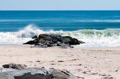 Zand en Stenen Stock Afbeeldingen