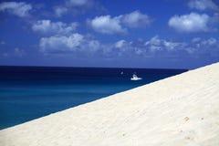 Zand en strand Stock Fotografie