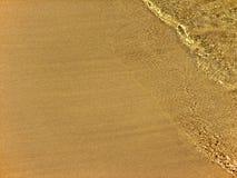 Zand en wavelet Stock Fotografie