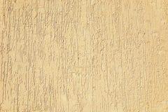 Zand-gekleurde gipspleistertextuur Royalty-vrije Stock Afbeelding
