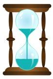 Zand-glas met water Royalty-vrije Stock Afbeeldingen
