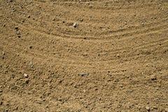 Zand in golfbunker Stock Afbeeldingen