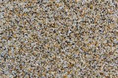Zand in het Strand Royalty-vrije Stock Afbeelding