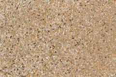 Zand in het Strand Stock Fotografie