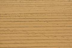 Zand met de Sporen van het Voertuig Royalty-vrije Stock Fotografie