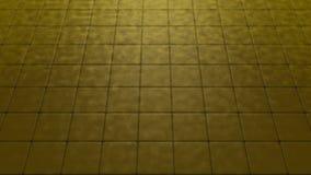 Zand op een bruin mozaïek Stock Afbeelding