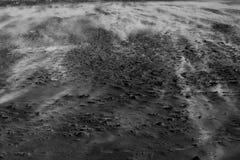 Zand op het strand Stock Afbeeldingen