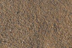 Zand op het strand bij kalimstrand in phuket Stock Foto's