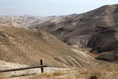 Zand van Woestijn Judean stock fotografie