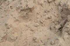 Zand voor bouw Royalty-vrije Stock Foto