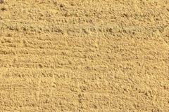 Zand voor de achtergrond van de bouwtextuur Royalty-vrije Stock Foto
