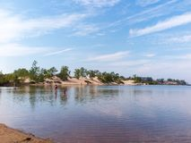 Zandbanken Provinciaal Park royalty-vrije stock foto