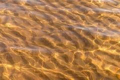 Zandduin onder het overzees Royalty-vrije Stock Foto