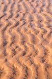 Zandduin op het strand Stock Fotografie