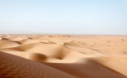 Zandduinen, Draa-vallei (Marokko) royalty-vrije stock afbeelding