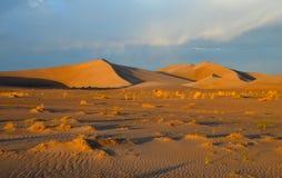 Zandduinen, het Nationale Park van de Doodsvallei, Californië Stock Fotografie