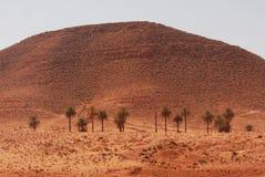 Zandduinen, Matmata, Zuidelijk Tunesië royalty-vrije stock afbeeldingen
