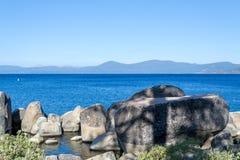 Zandhaven bij Meer Tahoe royalty-vrije stock afbeeldingen