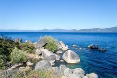 Zandhaven bij Meer Tahoe royalty-vrije stock fotografie