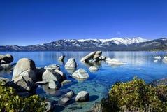 Zandhaven, Meer Tahoe 2 royalty-vrije stock foto