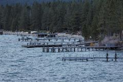 Zandhaven tahoe stock foto's