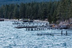 Zandhaven tahoe royalty-vrije stock afbeelding