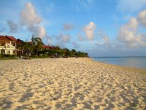 Zandig Mauritius Royalty-vrije Stock Foto