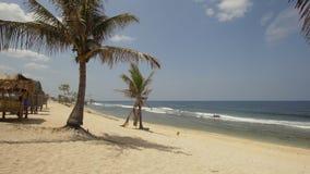 Zandig wit strand filippijnen Stock Afbeelding