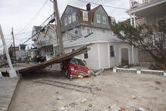 Zandige de orkaan van de nasleep Royalty-vrije Stock Afbeeldingen