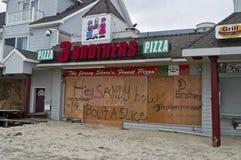 Zandige Pizza Belmar Stock Afbeeldingen