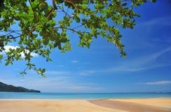 Zandige stranden Royalty-vrije Stock Foto