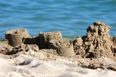 Zandkasteel Royalty-vrije Stock Fotografie