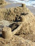 Zandkasteel Stock Afbeeldingen