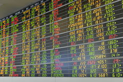 Zandloper, dollar en euro Royalty-vrije Stock Afbeeldingen
