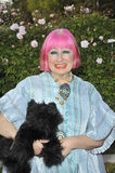 Zandra Rhodes Royalty Free Stock Photography