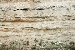 Zandsteenlagen Aardetijdvakken royalty-vrije stock foto