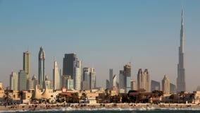 Zandstorm in Doubai stock videobeelden