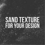 Zandtextuur voor uw ontwerp stock illustratie