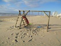 Zandvoort plaża obraz stock