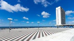 Zandvoort promenad Royaltyfri Foto