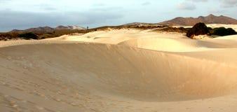 Zandwoestijn royalty-vrije stock foto's