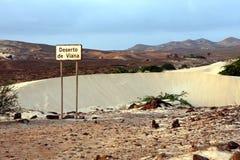 Zandwoestijn Royalty-vrije Stock Afbeeldingen