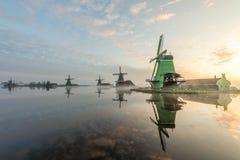Zanes-Schans netherlands Holand?s, moinho fotografia de stock
