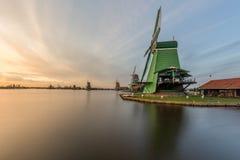Zanes-Schans netherlands Holländer, Mühle lizenzfreie stockfotos