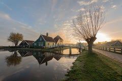 Zanes-Schans netherlands stockbild