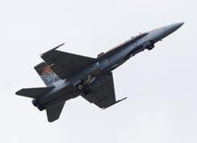Zangão CF-18 canadense imagens de stock royalty free