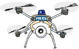 Zangão da polícia Fotografia de Stock